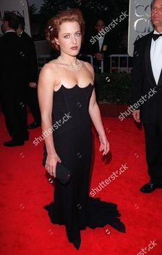 Gillian Anderson - 1998 Golden Globes