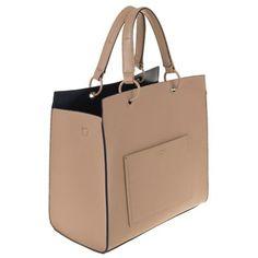 Parfois Hand bag pvc plain shopper taupe- at Debenhams.com