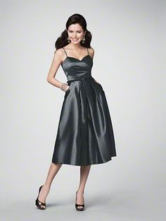 Bridesmaids Dress - Luxe Taffeta #alfred #angelo