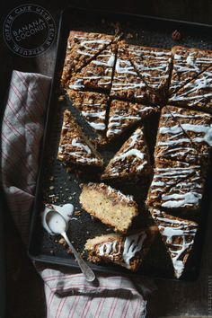 Banana Coconut Coffee Cake | Bakers Royale