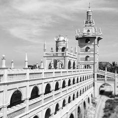 Simala Shrine #churches #miraculous #architecture #archilovers #shrines #castles #architecturephotography #bw #blackandwhite #blancoynegro #blackandwhitephotography #Cebu #travelling #travel #wanderlust