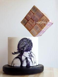Hanging cube