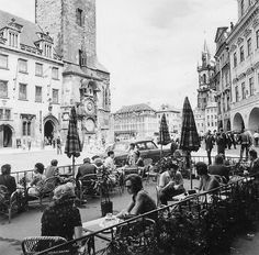 Prague of yesteryear. Courtesy of Vilém Heckel Archive Vintage Pictures, Vintage Images, Czech Republic, Most Beautiful Pictures, Cities, Archive, United States, Black And White, History