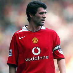 Roy Keane Manchester United Legends, Manchester United Players, Roy Keane, Simply Red, Sport Icon, Old Trafford, Man United, Classic Man, Esquire