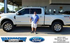 https://flic.kr/p/NxkAkC | Congratulations Mark on your #Ford #Super Duty F-250 SRW from J David Thornhill at Waxahachie Ford! | deliverymaxx.com/DealerReviews.aspx?DealerCode=E749