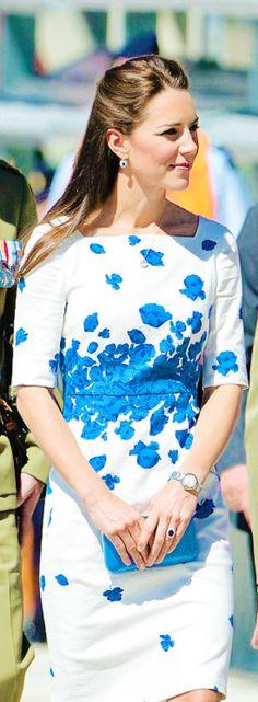The Duke and Duchess of Cambridge in Australia, 19 April 2014 #katemiddleton