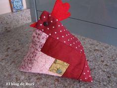 El blog de Dori: La gallina con peineta
