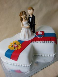 Unusual wedding cake - Cake by Novanka
