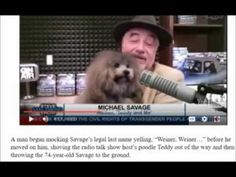 UPDATE  Radio Talk Show Host Michael Savage Attacked At San Francisco Re...