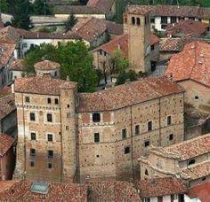 Castello di #Roddi, provincia di #Cuneo. XI-XV secolo