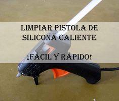 Chatis, nuestra compi Maria José nos trae un truco ideal para limpiar la pistola de silicona caliente. ¡Es súper sencillo! #diy