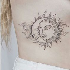 Beaut tattoo ink tattoos, tattoo drawings и body art Moon Sun Tattoo, Sun Tattoos, Couple Tattoos, Love Tattoos, Beautiful Tattoos, Body Art Tattoos, Small Tattoos, Tattoos For Women, Gypsy Tattoos
