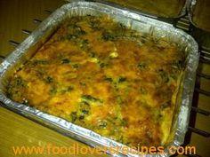 SPINASIE EN FETA SOUTTERT (met variasies) Lasagna, Feta, Food To Make, Afrikaans, Quiches, Scones, Ethnic Recipes, Houston, Om