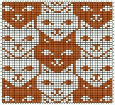 knitting charts tessellations charts for - knitting Knitting Charts, Knitting Stitches, Knitting Designs, Knitting Patterns, Crochet Patterns, Loom Patterns, Crochet Cross, Crochet Chart, Knit Crochet