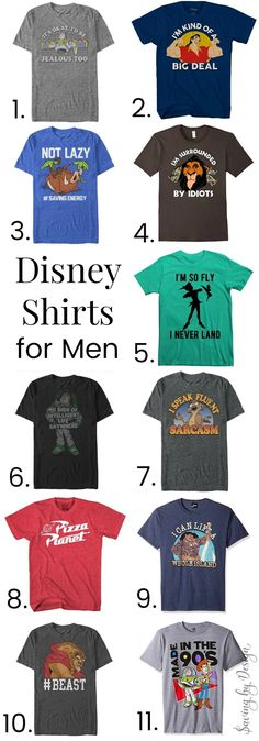 11fc1fa62 Disney shirts for men can be hard to find! These super fun Disney t-