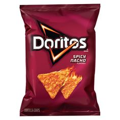 Doritos Flavored Tortilla Chips, Spicy Sweet Chili, Ounce (Pack of Ritz Crackers, Tortilla Chips, Spicy Doritos, Vegan Snacks, Snack Recipes, Yummy Snacks, Elma Chips, Accidentally Vegan Foods, Frito Lay