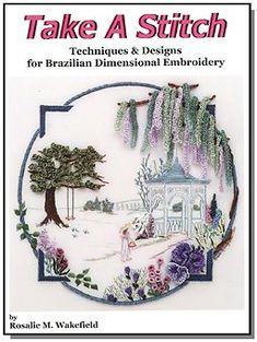 EdMar Co. Books Brazilian dimensional embroidery.