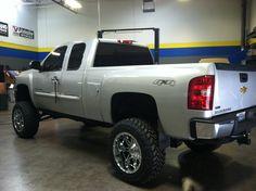 2012 gm 9 lift kit truck