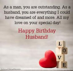 Looking for best birthday wishes for your husband? Here you will get romantic happy birthday wishes for husband with romantic birthday images. Happy Birthday Husband Romantic, Happy Birthday Love Quotes, Happy Birthday Honey, Special Birthday Wishes, Birthday Wish For Husband, Romantic Birthday, Birthday Wishes For Myself, Husband Birthday, Wishes For Husband
