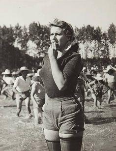 """Silvana Mangano in """"Riso amaro"""" (1949). Country: Italy. Director: Giuseppe De Santis."""