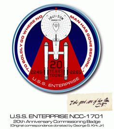 Enterprise 1701 - 20 Years Young.