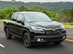 The 2017 Honda Ridgeline is a smart alternative to full-size trucks, for drivers content with matching the right tool to the right job. Find out why the 2017 Honda Ridgeline is rated by The Car Connection experts. Ford Trucks 2017, Honda Ridgeline 2017, Honda Dealership, Fuel Efficient Cars, Chevrolet Colorado, Photos 2016, Honda Cars, New Honda, Toyota Tundra