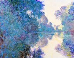 "jolieing: ""  Claude Monet - Morning on the Seine near Giverny, 1897 """