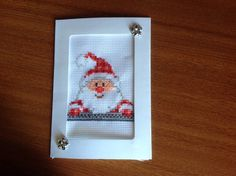 """Sneaky Santa"" by Joolzanne Designs"