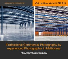 Glenn Hester Photography has set a benchmark in commercial photography in Melbourne. With attention to detail and hands-on experience with all aspects of commercial photography, Glenn Hester is taking the industry by storm. Also, we know that there's a lot of money riding on your corporate advertising campaigns and so do we strive hard to deliver the photography assistance that works well for you.