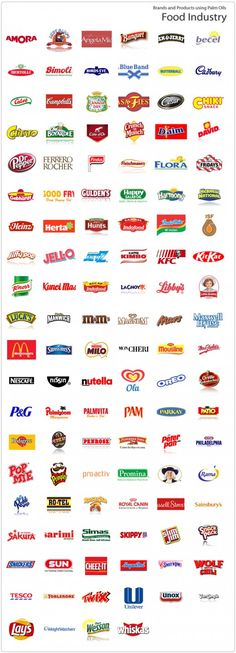 Palm Oil - Note that all these foods are process foods, sad that it is in dog food too.