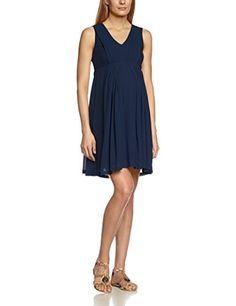 just the thing Mamalicious Women's Wedd Sl Woven Knee Dress sleeveless Dress