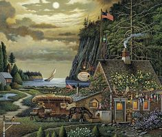25 Best Charles Wysocki images in 2012 | Naive art