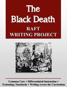 Would you like to enliven history with a fun, challenging writing project? The Black Death RAFT Writing Project contains a RAFT writing project for the social studies classroom. This project may be used as a creative research project or as a summarizing assignment to end a unit of study on the Middle Ages or another aspect of European History. 9-12, 5 pgs. $