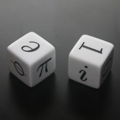 Phi, Euler's identity and mathematic dice @ gaussianos.com