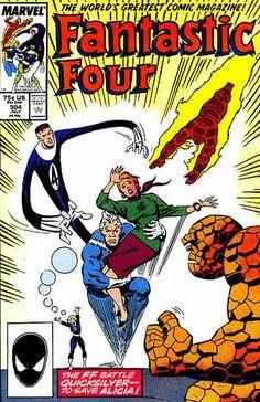 Fantastic Four # 304 by John Buscema & Sal Buscema