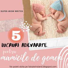 5 Adevaruri pentru mamicile de gemeni