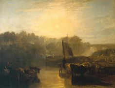 Joseph Mallord William Turner 'Abingdon', exhibited 1806?