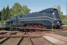 The locomotives of DEUTSHE REICHSBAHN CLASS 01.10 (DRB Class 01.10) were standard locomotives (Einheitsdampflokomotiven) used for express train services by the Deutsche Reichsbahn. The Class 01.10 was a development of the Class 01.