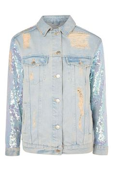 646b3478db River Island Black sleeveless denim jacket ($58) ❤ liked on ...