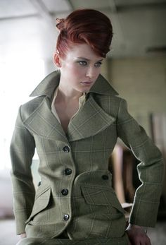 Harris Tweed jacket in Liberty Freedom tweed