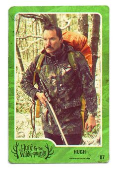 Cohen Holloway as 'Hugh'. - Hunt for The Wilderpeople Wilder People, Hunt For The Wilderpeople, Flight Of The Conchords, Sam Neill, Taika Waititi, Motion Graphics, Shadows, Cinema, Marvel