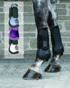 Shedrow Open Front Boots in Pony Size!!  Great colors Light Blue, Purple, White and Black MSRP$39.99 BOE0033 (Horse sizes too)