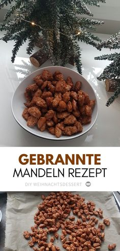 Make roasted almonds like from the Christmas market yourself- Gebrannte Mandeln wie vom Weihnachtsmarkt selber machen Recipe: Roasted almonds like from the Christmas market - Easy Bread Recipes, Healthy Dinner Recipes, Dog Food Recipes, Healthy Snacks, Snack Recipes, Mary Berry, Food Dog, Roasted Almonds, Healthy Protein