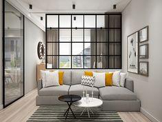 Home Building Design, House Design, Tiny Studio Apartments, My House Plans, Small Apartment Living, Studio Living, Minimalist Bedroom, Interior Design Living Room, Home Decor