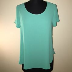 Lush teal top Super cute light and breezy summer top from Lush. Fun teal color, perfect for any summer outfit. NWOT Lush Tops