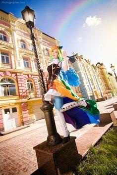 Steampunk Tendencies | My Little Pony Rainbow Dash - Cosplayer : Furuko Yoiko - Photo : Eva #Cosplay #Steampunk
