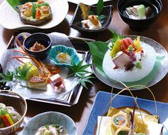 kaiseki Korean Dishes, Asian Recipes, Ethnic Recipes, Food Places, Nihon, Food Plating, No Cook Meals, Japanese Food, Sushi
