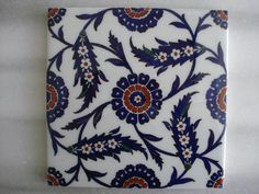 Ceramic Tile Art, Clay Tiles, Ceramic Painting, Painting Patterns, Print Patterns, Do It Yourself Wedding, Blue Pottery, Turkish Art, Metallic Colors