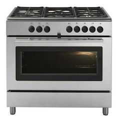 Budget friendly - Praktfull Pro A51 S Gas Range from Ikea. Made in Italy by Whirlpool, it offers a large forced air oven with a convection option and a gas cooktop with five burners, including a larger one with triple flame. The highest power burner is 11,000 BTU's; $1,949 at Ikea.