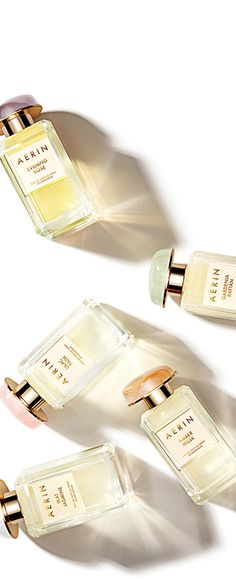 Explore the five beautiful scents of the new @AERIN fragrance collection